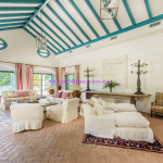 Majestic Andalusian style villa of an exceptional standard and located in a private area of Sotogrande Alto